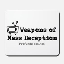 TV Mass Deception Mousepad