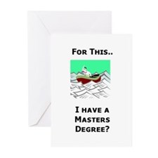 Paperwork Nightmare Greeting Cards (Pk of 10)