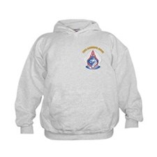 DUI - XVIII Airborne Corps with Text Hoodie