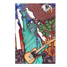Liberty Rocks Postcards (Package of 8)