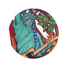 """Liberty Rocks 3.5"""" Button"""
