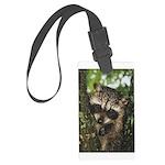 Baby Raccoon Large Luggage Tag