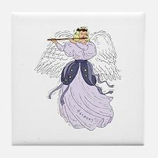 Angel Of Harmony Tile Coaster