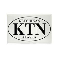 Ketchikan Rectangle Magnet