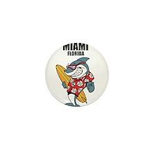 Miami, Florida Mini Button (10 pack)