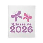 Classe de 2026 Graduation Throw Blanket