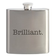 Brilliant Inspirational Modern Quote Flask