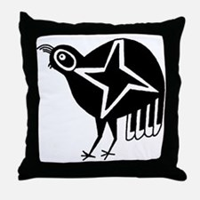 AbOriginalzc Mimbres Quail Throw Pillow