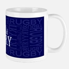 Line Out and Try Rugby Mug