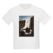 Thingvellir Waterfall T-Shirt