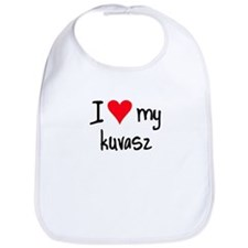 I LOVE MY Kuvasz Bib