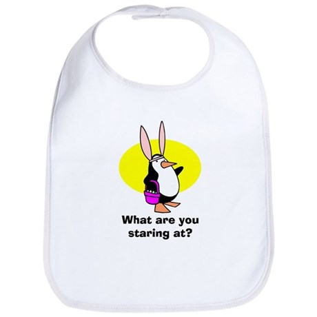 Easter Penguin Bib