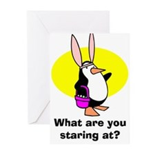 Easter Penguin Greeting Cards (Pk of 10)