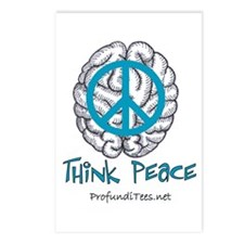 Think Peace Postcards (Package of 8)