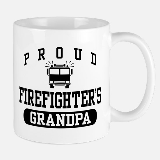 Proud Firefighter's Grandpa Mug