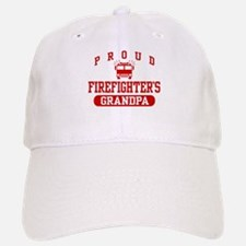 Proud Firefighter's Grandpa Baseball Baseball Cap