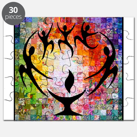 Chalice with Dancers Puzzle
