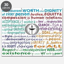 UU 7 Principles Puzzle