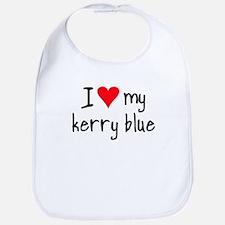 I LOVE MY Kerry Blue Bib