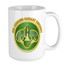 DUI - 3rd Cavalry Rgt with Text Mug