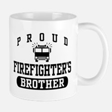 Proud Firefighter's Brother Mug