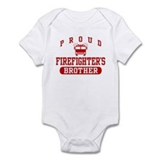 Proud Firefighter's Brother Infant Bodysuit