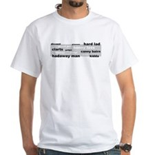 Geordie Words Shirt