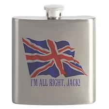 Funny Northern ireland flag Flask