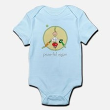 peas-ful vegan Infant Bodysuit