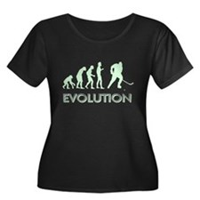 Evolution Hockey Plus Size T-Shirt
