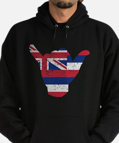 Hawaii Flag Hang Loose Hoody