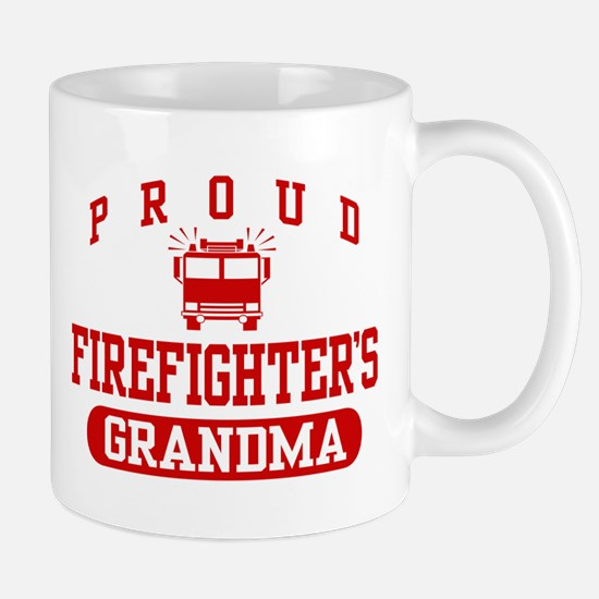 Proud Firefighter's Grandma Mug