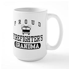Proud Firefighter's Grandma Mug