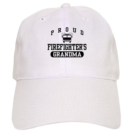 Proud Firefighter's Grandma Cap