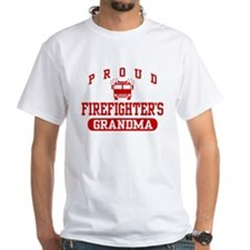Proud Firefighter's Grandma Shirt