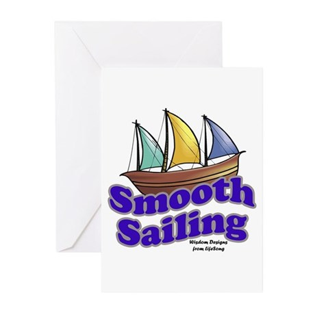 Smooth Sailing Greeting Cards (Pk of 10)