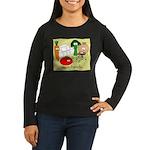 Vegan friendly Women's Long Sleeve Dark T-Shirt
