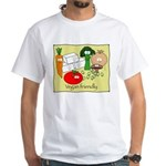 Vegan friendly White T-Shirt