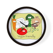 Vegan friendly Wall Clock