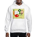 Vegan friendly Hooded Sweatshirt