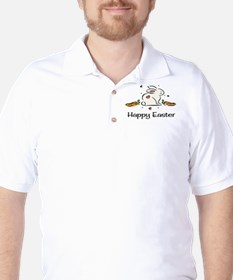 Easter bunny with carrots T-Shirt