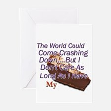 The World Could Come Crashing Greeting Cards (Pack