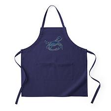 Chesapeake Bay Blue Crab Apron (dark)