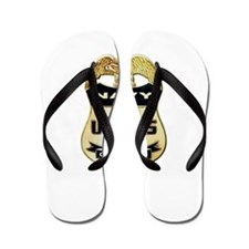 U S Navy Customs Badge Flip Flops
