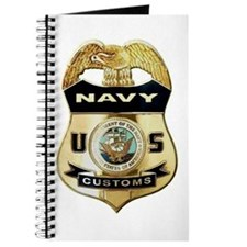 U S Navy Customs Badge Journal