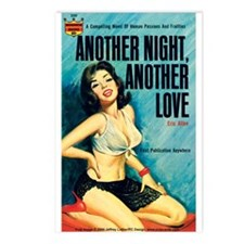 Postcards (pkg. 8)-'Another Night...Love