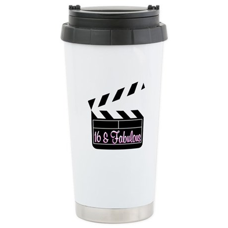 SUPER STAR 16TH Stainless Steel Travel Mug