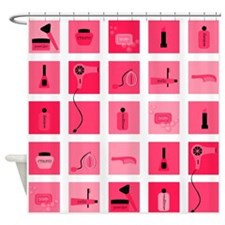 Girl Pop Shower Curtain