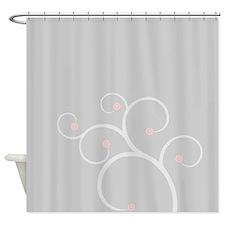 Sweet Cherry Blossom Shower Curtain