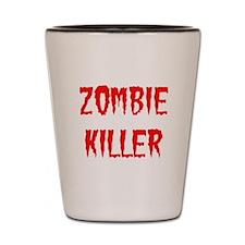 Zombie Killer Shot Glass